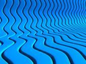 Abstrakte blauen Wellen Streifenmuster