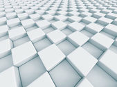 Bílé šachové abstraktní vzor