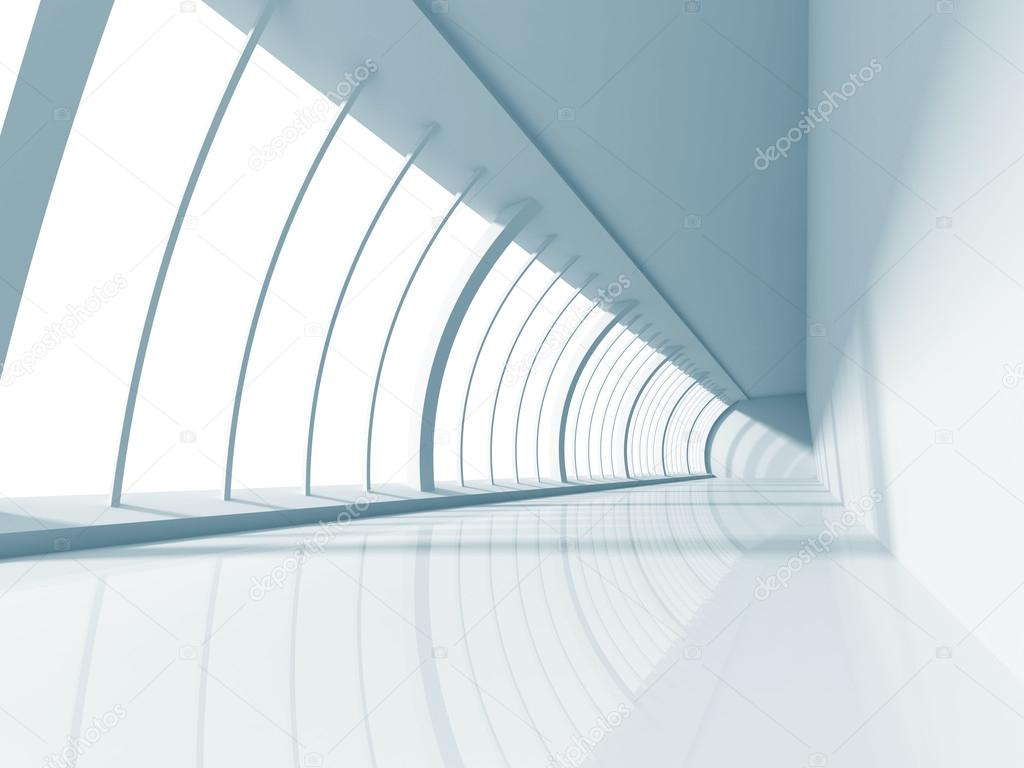 Abstract white modern interior stock photo for Modern white interior