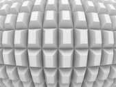 Modern Geometric White Background
