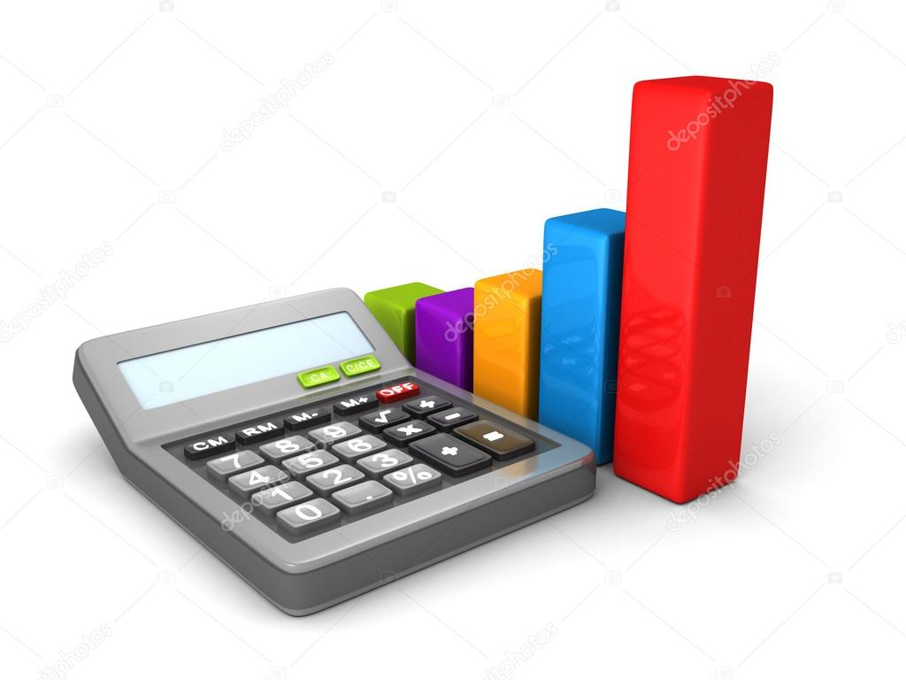 Calculator and colorful business bar chart stock photo calculator and colorful business bar chart stock photo ccuart Gallery