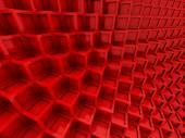 Bloky pozadí abstraktní červená kostka