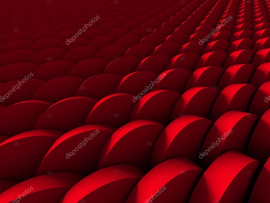 Red Round Shapes Wallpaper Background Stock Photo C Versusstudio