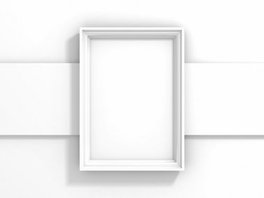 Blank picture or photo frame