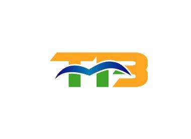 TB letter logo design vector illustration template