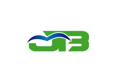 JB company group linked letter logo