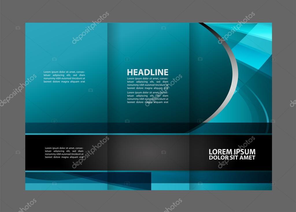 Negocios tema Tri-fold Brochure diseño y plantilla de concepto de ...