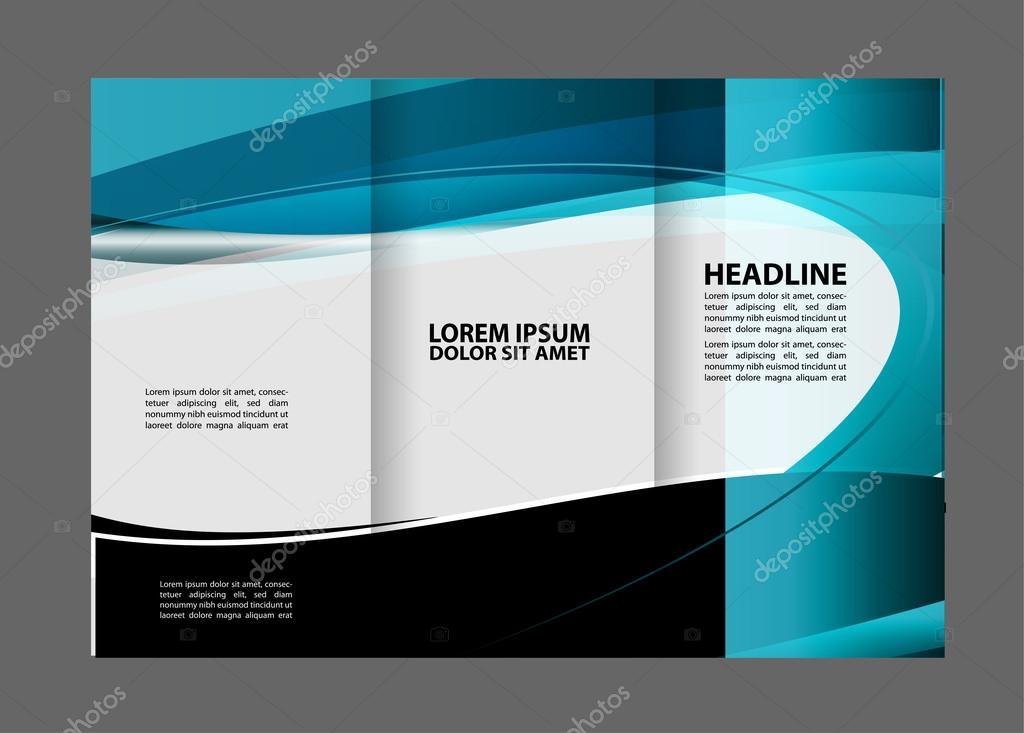 Broschüre Design-Vorlage. Abstrakt. für Wirtschaft, Bildung, Werbung ...