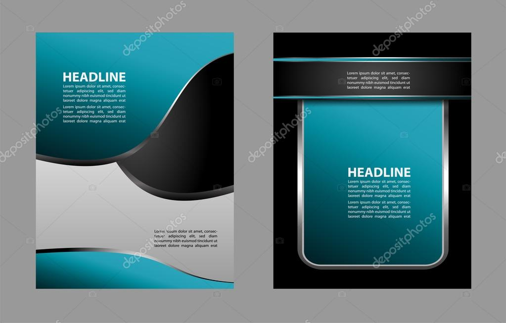 professional business flyer template brochure cover design or