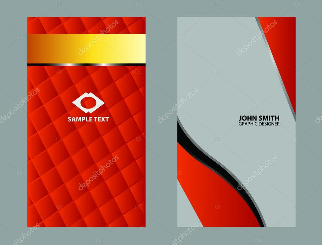 Business card black and red stock vector jimmy238 122976694 business card black and red stock vector reheart Images