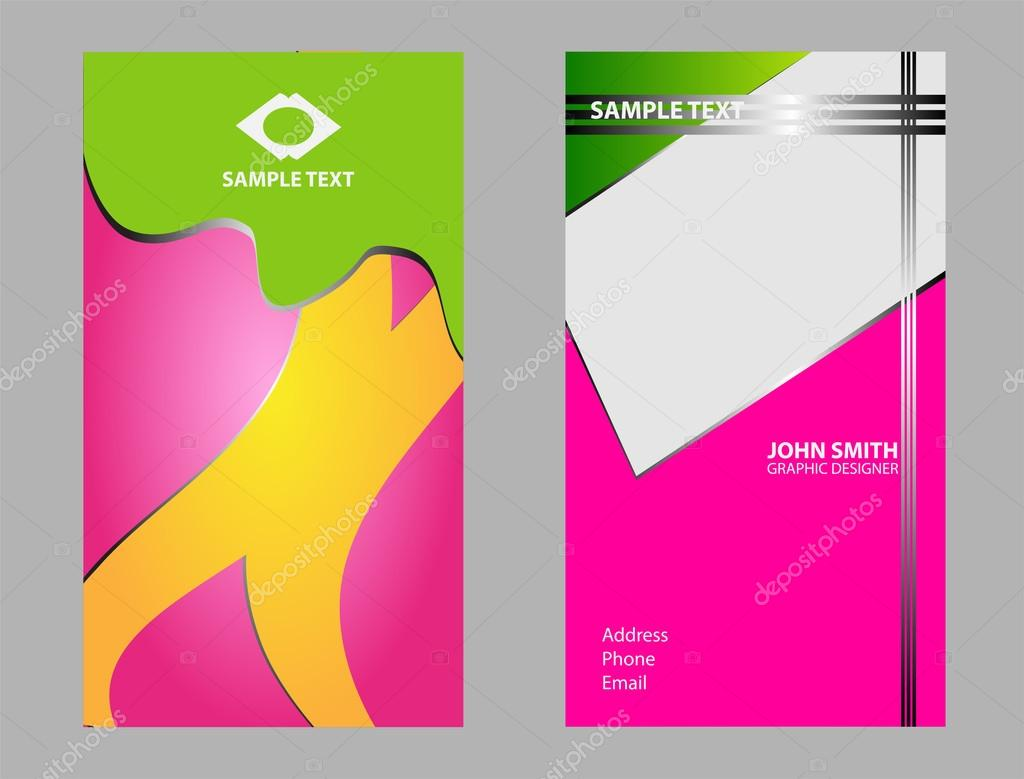 Business card background set abstract business card design business card background set abstract business card design templates stock vector fbccfo Gallery