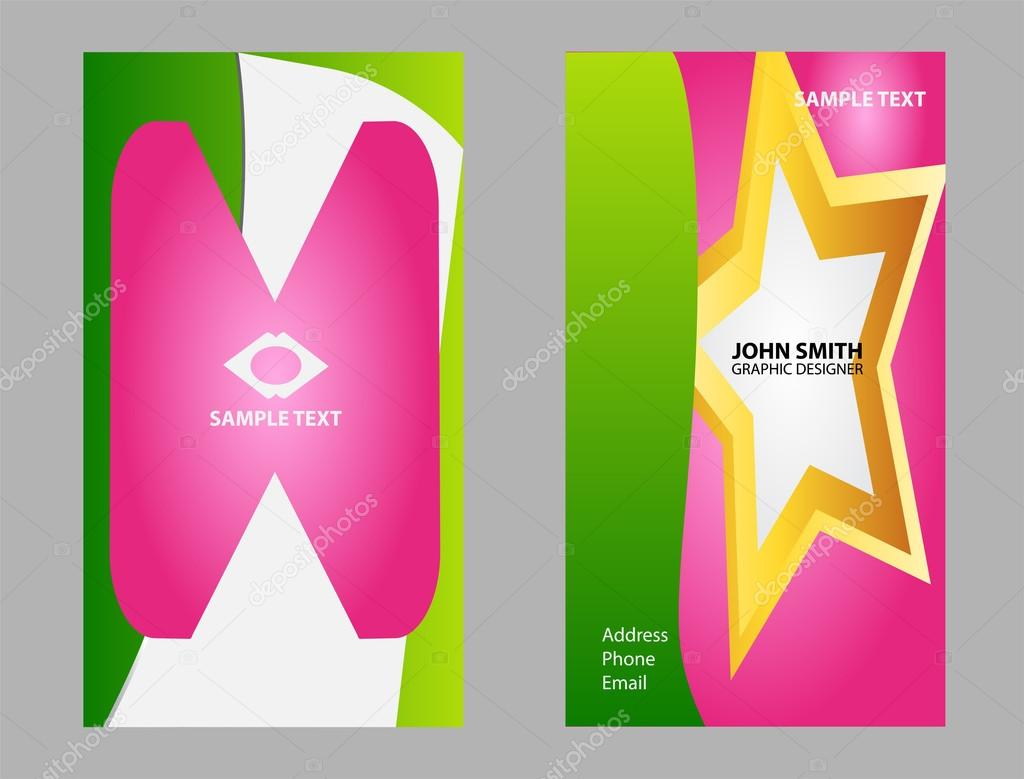 Business card background set abstract business card design business card background set abstract business card design templates stock vector accmission Choice Image