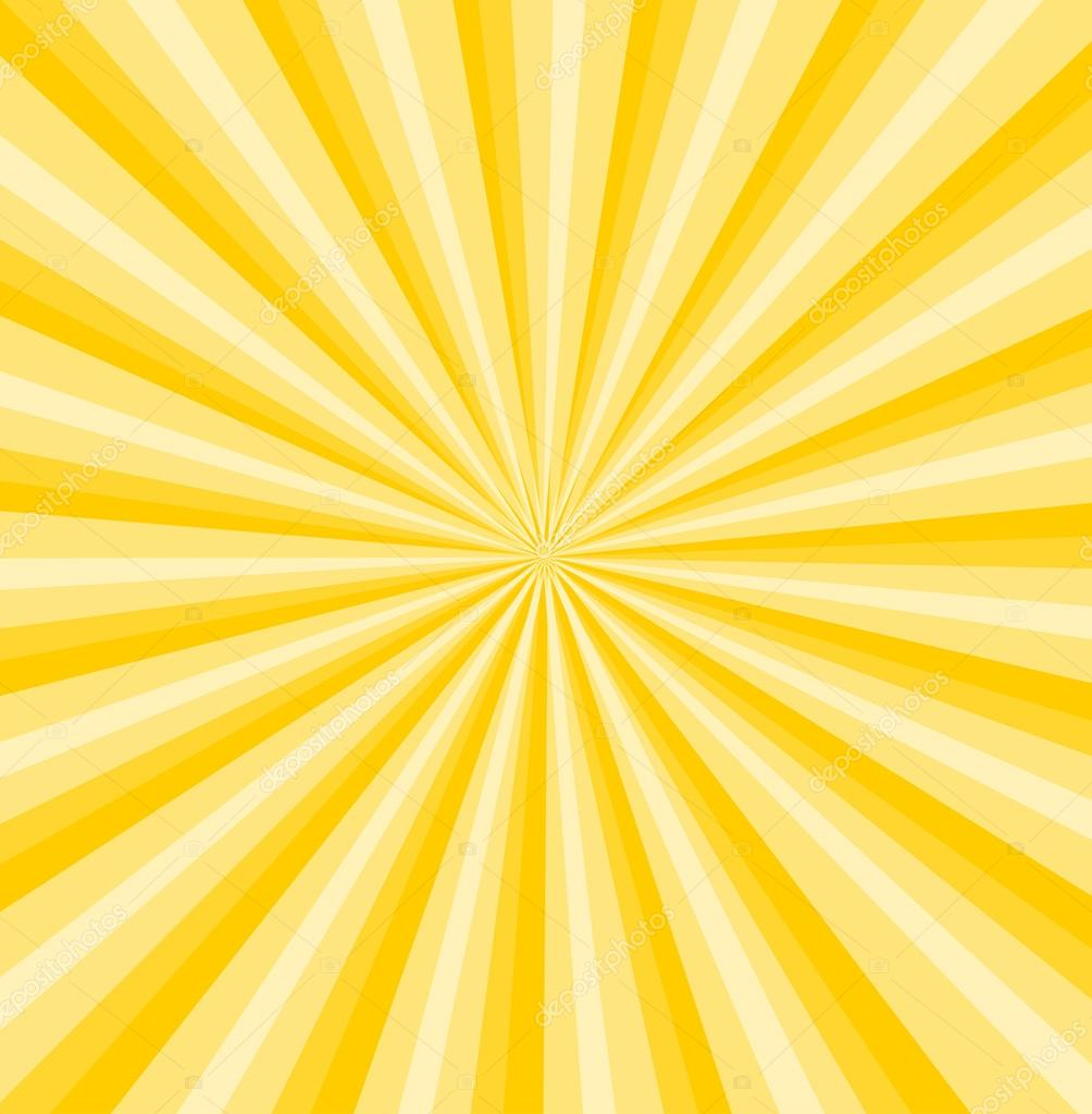 yellow rays vector - photo #3