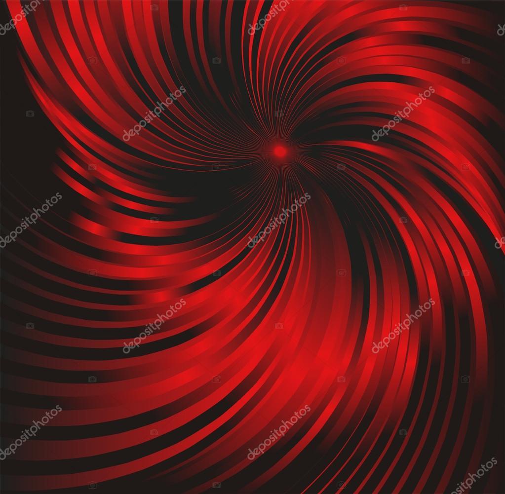 Astratto Sfondo Rosso E Nero Metallizzato Con Ricciolo Vettoriali