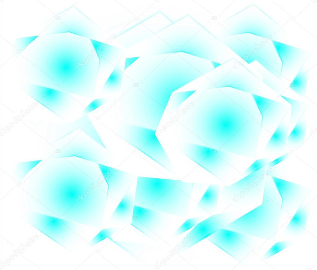 Sfondo Bianco Azzurro Sfondo Bianco Azzurro Poligonale Con