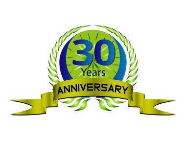 30 Years Anniversary - Laurel Wreath Seal