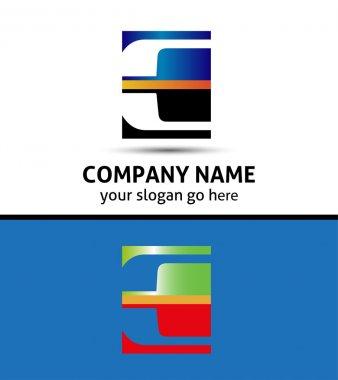 Letter E logo symbol