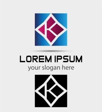 Letter K logo  symbol vector icon