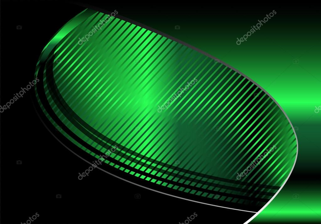 Disegno Dellonda Verde E Nero Sullo Sfondo Per Il Testo E Messaggio