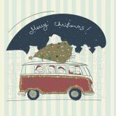 Fényképek boldog karácsonyi kártya