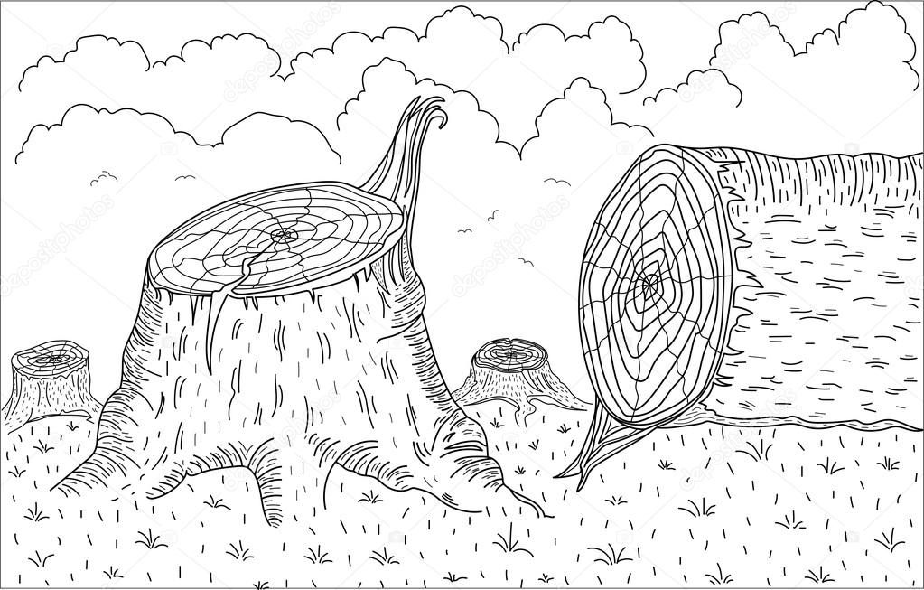 Erosion Coloring Pages