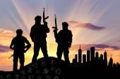 Silueta teroristů