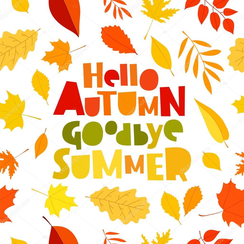 компания картинки на тему пока лето привет осень образом, поняв