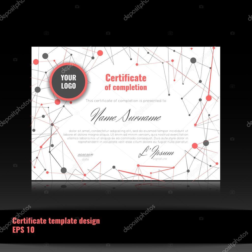 Certificado de apreciación (realización, logro, graduación, diploma ...