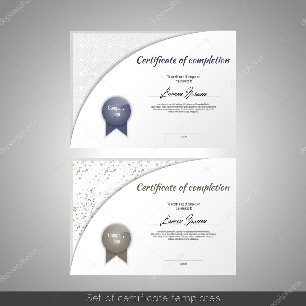 Certificate Of Completion Appreciation Achievement Graduation