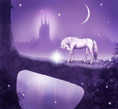 Fantastic unicor on the bridge