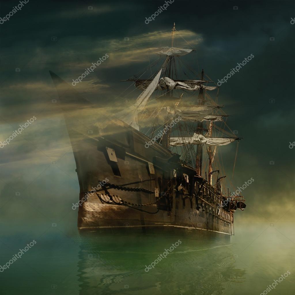 Fantastic ship