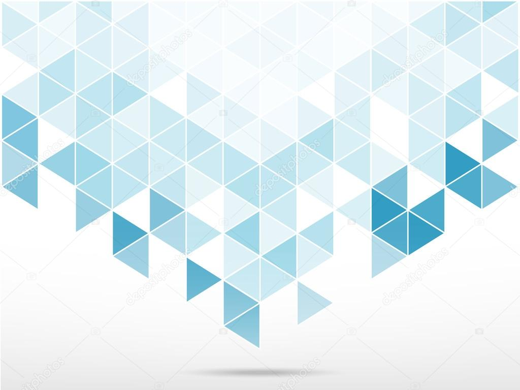 Abstract Background With Light Blue Triangle Shape Stock