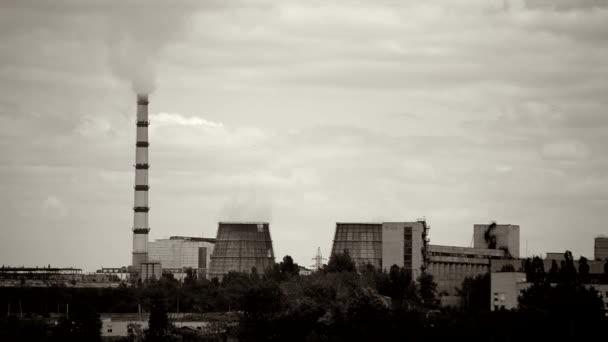 panoramatický pohled elektrárny