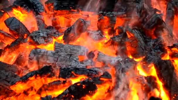 uhlí, spalování v ohni