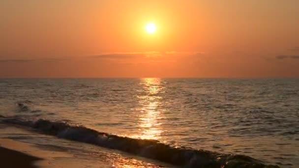 Landschaft mit Meer, Sonne, Himmel