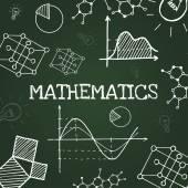 Kréta tábla rajz matematikai szimbólumok