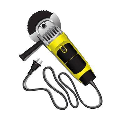 Vector electric grinder .Eps10