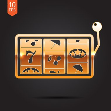 Vector slot icon. Eps10