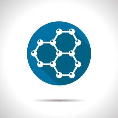 graphene flat icon
