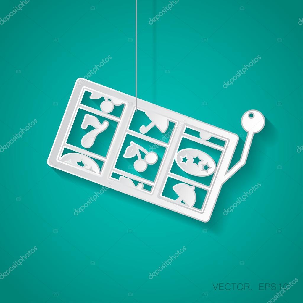 flat slot icon.
