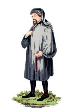 Geoffrey Chaucer engraving