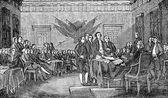 Fotografie 4. července 1776 deklarace Independence
