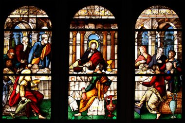 The Last Supper, Stained Glass Window