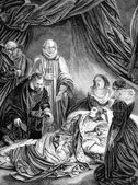 Photo Death Of Queen Elizabeth I