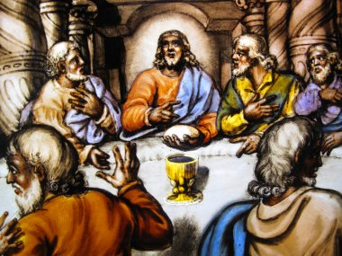 The Last Supper, Stained Glass