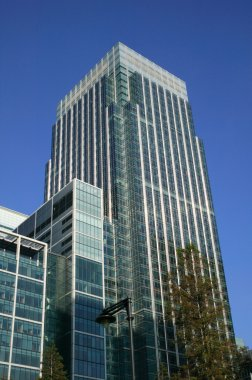 Canary Wharf Tower in London Docklands