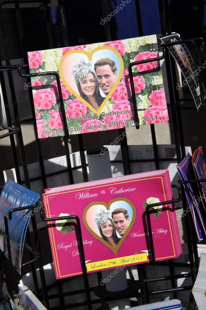 Royal Wedding Postcards