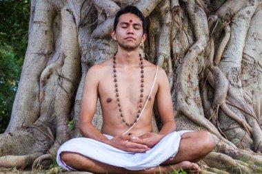 Hindu In Meditation
