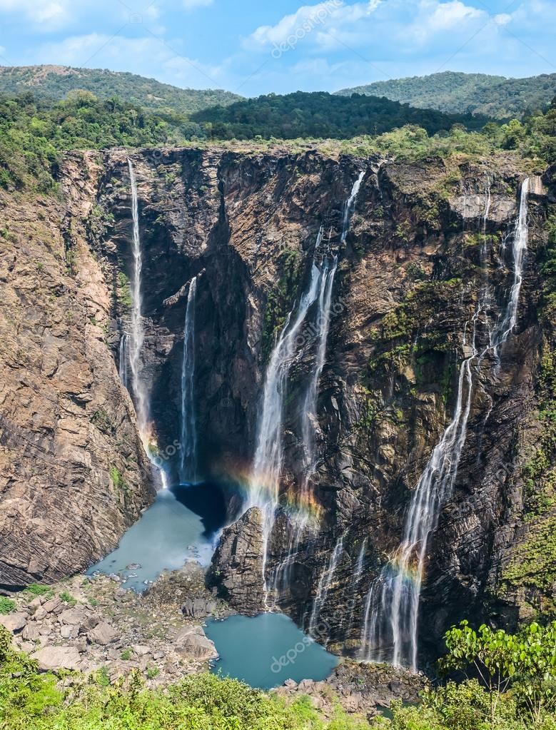 Jog waterfalls in Southern India