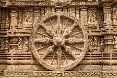 Sandstone Chariot Wheel